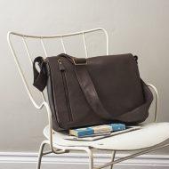Brown Leather Men's Bag