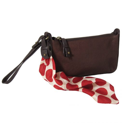 Red Polka with Handstrap