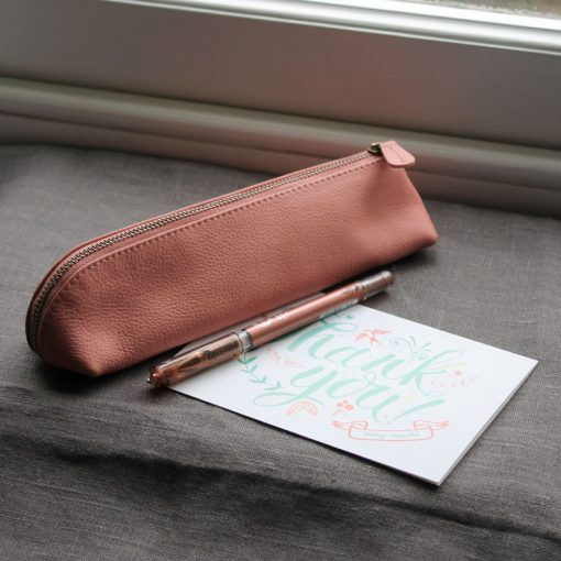 Blush Pencil Case