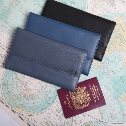 Marylebone Travel Document Wallet