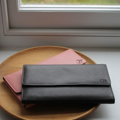 Marylebone Blush & Brown Leather