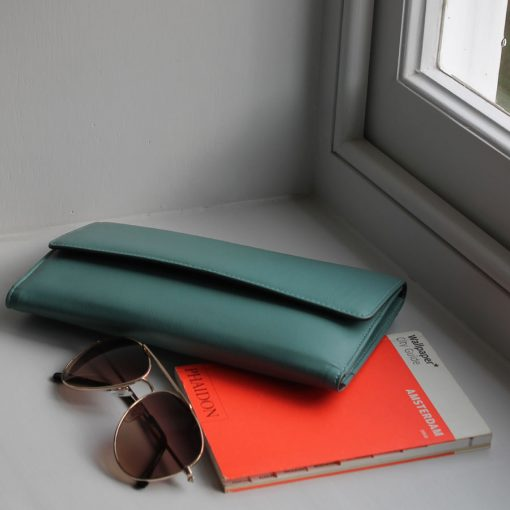 Marylebone Teal Leather