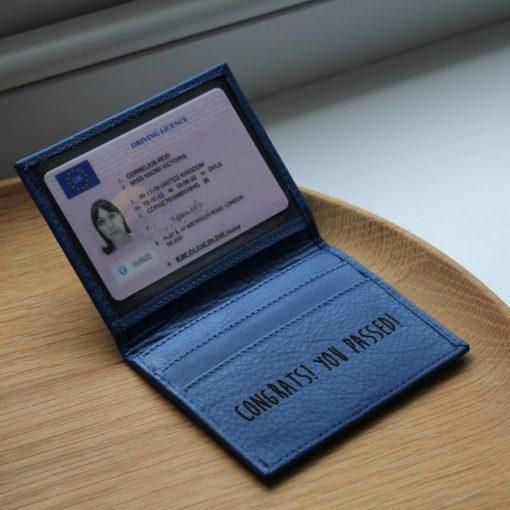 Paddington Blue Leather