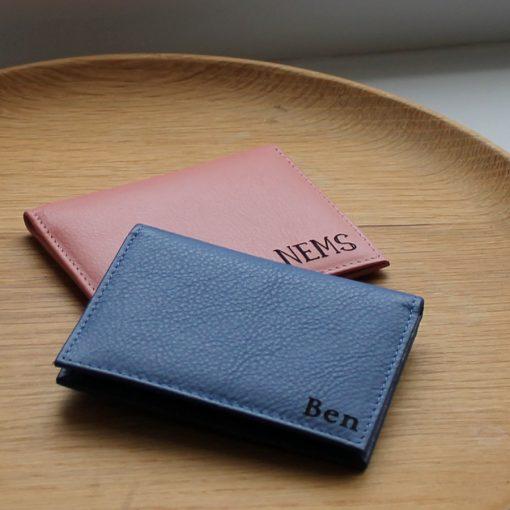 Paddington Blush & Blue Leather