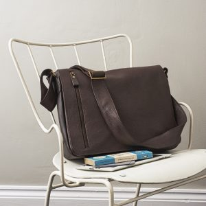 Brown Leather Men's Bag