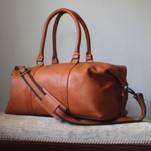 Anthony Tan Leather Weekender