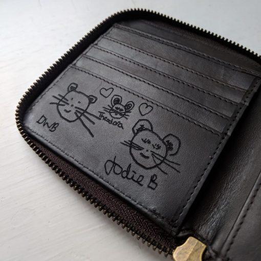 Bespoke Westbourne Leather Wallet