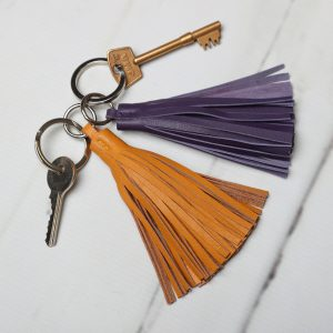 Lola Leather Key Ring