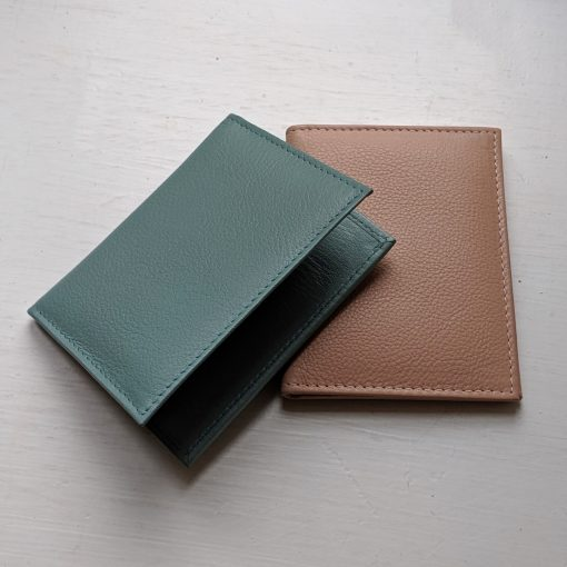 Paddington Mint & Nude Leather