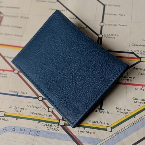 Paddington Blue Leather