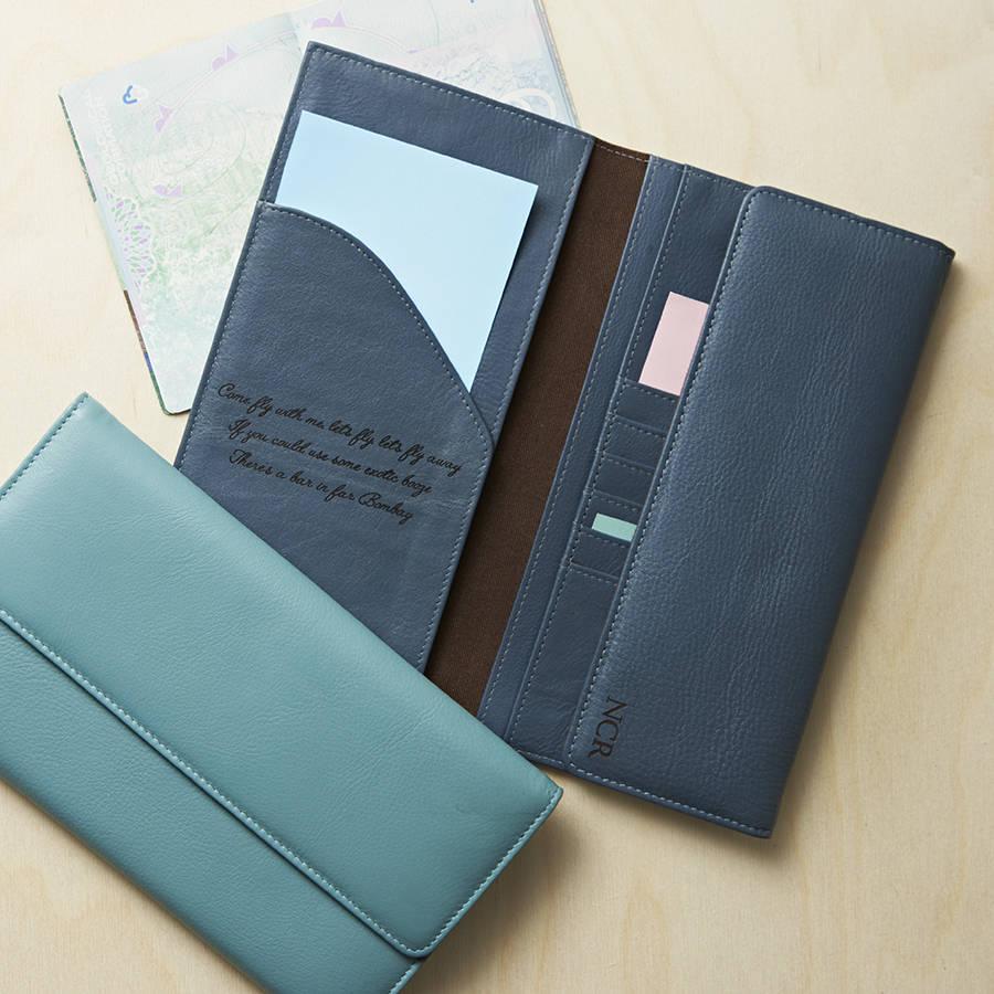 593430b1513c Travel Document Wallet - NV London Calcutta