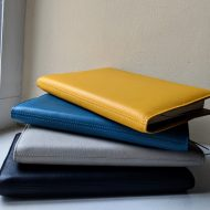 Luxurious leather notebook