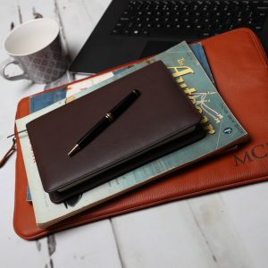Wilde Notebook Brown Leather