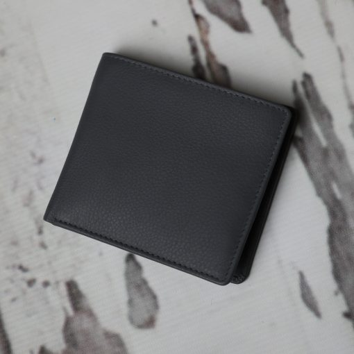 James Grey Leather Wallet
