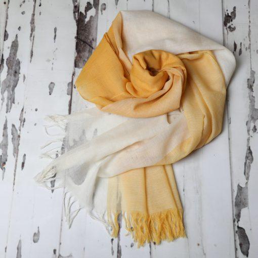 Large Handwoven Woollen Scarf