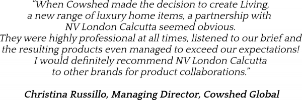 NV London Calcutta Corporate Service Cowshed Testimonial