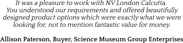 Science Museum Testimonial NV London Calcutta Corporate Services