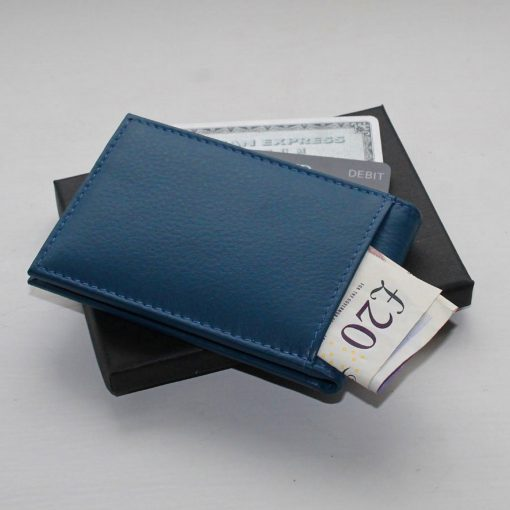 Bright Blue Mini Wallet