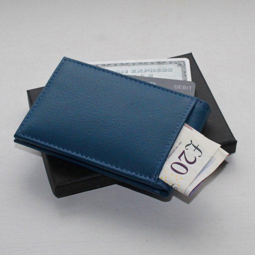 Bright Blue Mini Wallet