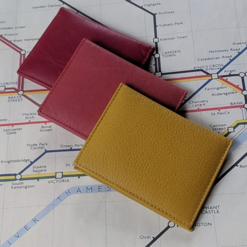 Paddington Mustard, Earthy Red & Red leathers