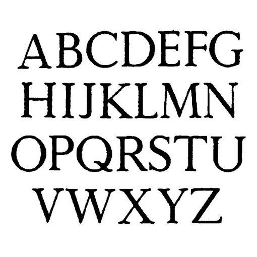 Foiling Font