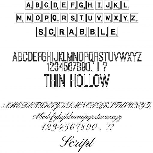 Font Options 2