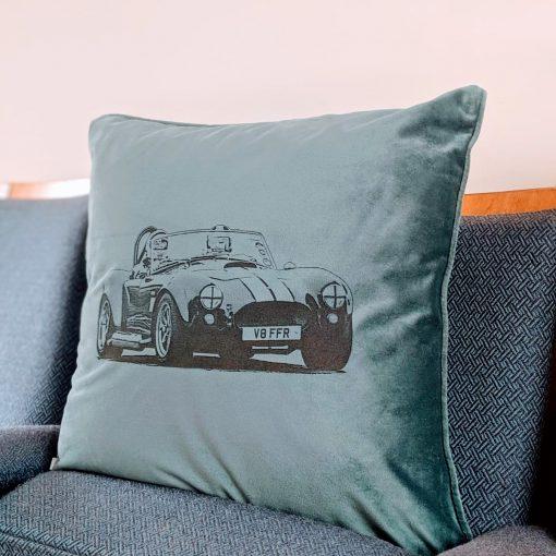 Beetle Velvet Cushion