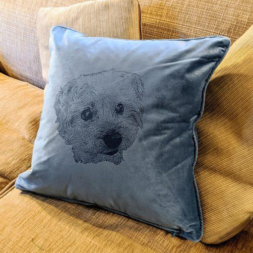 Dog Portrait Cushion