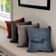 Velvet Motor Cushion